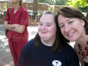 Kristin & me at the zoo.