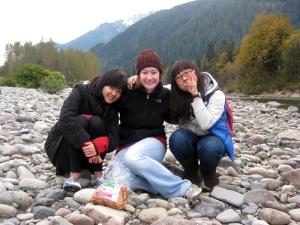 Chae Yeun, Sandy, & Me.