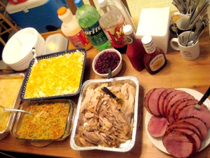 Our Thanksgiving Feast.